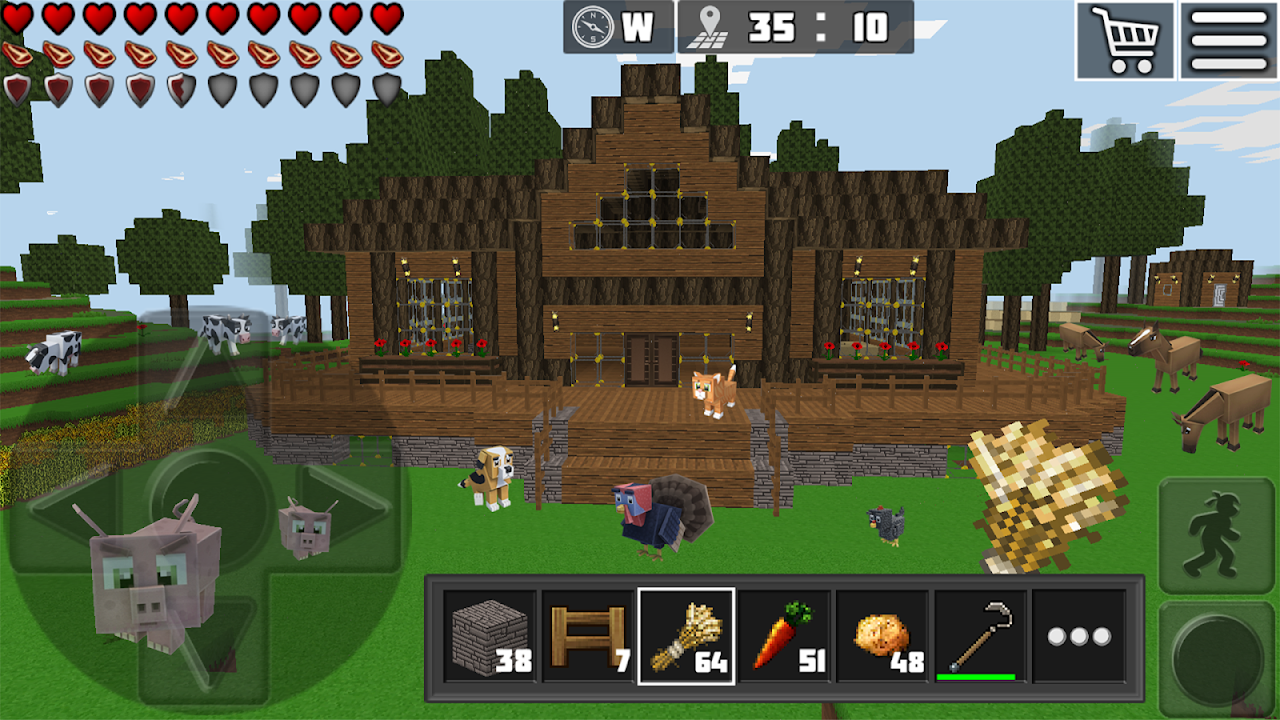 WorldCraft : 3D Build & Craft 3.1 Screen 9