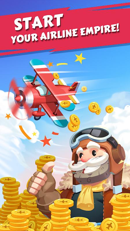 Merge Plane - Click & Idle Tycoon 1.4.8 Screen 4