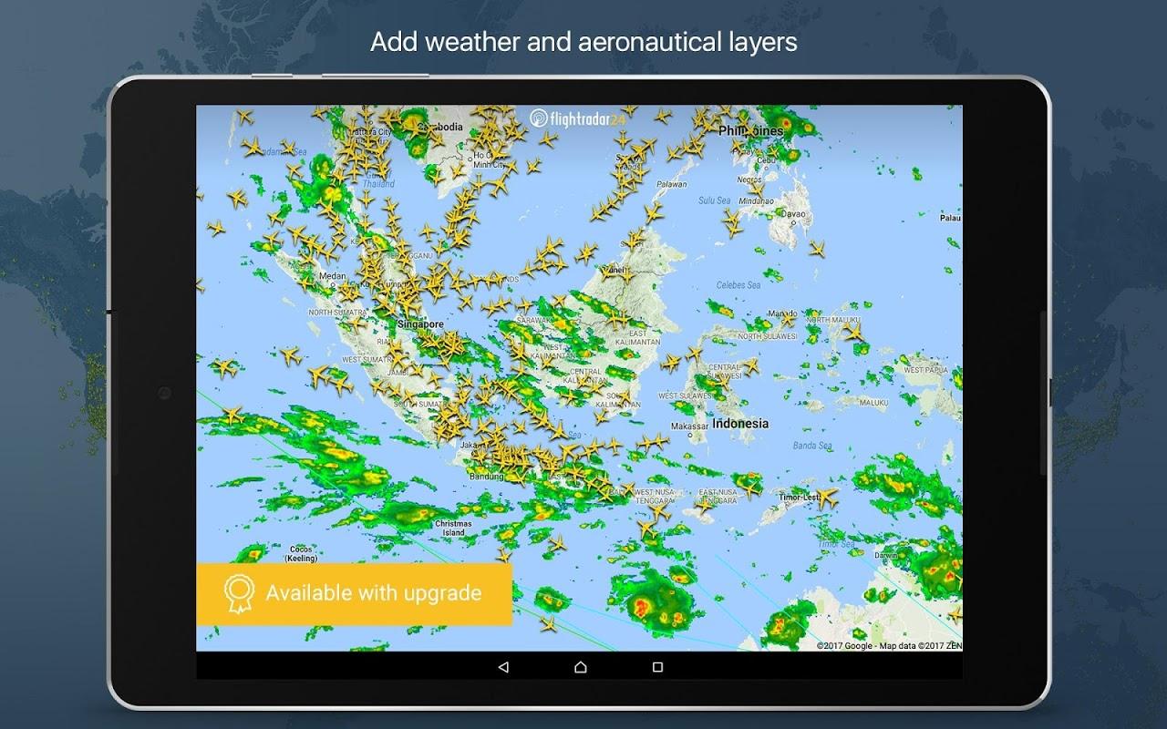 Android Flightradar24 Flight Tracker Screen 7