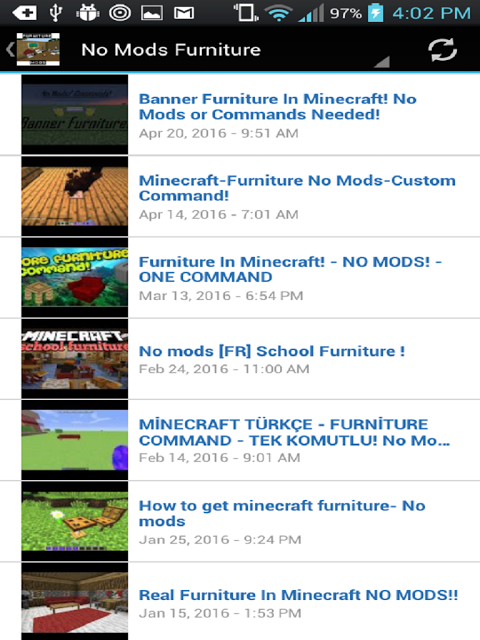 Android Furniture Mods For Minecraft Screen 21