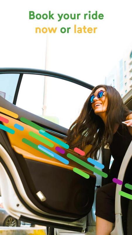 Android Careem - Car Booking App Screen 1