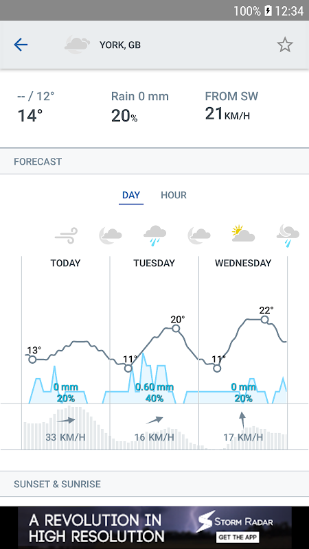 Storm Radar: Weather Map 1.6.2 Screen 3