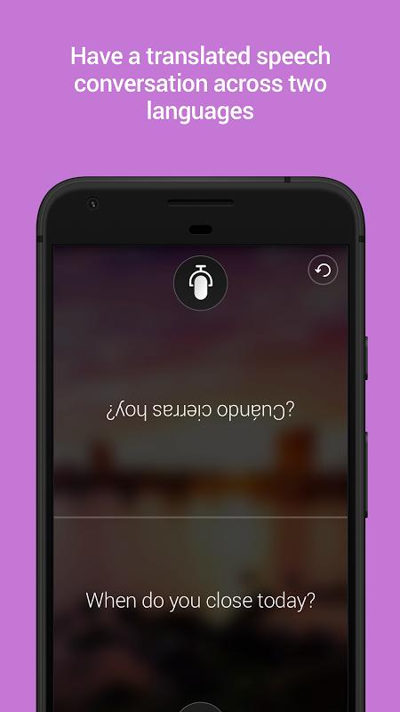Microsoft Translator 3.1.250 Screen 2