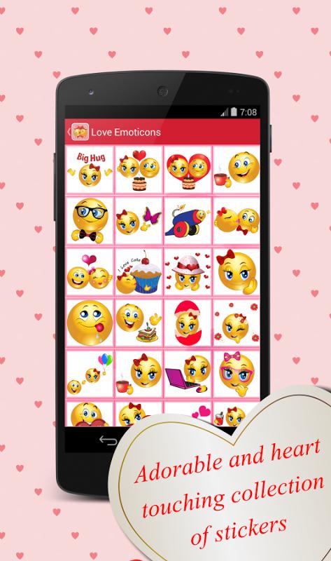 Love Stickers 1.9 Screen 1