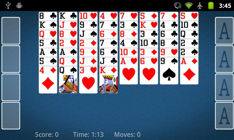 FreeCell Solitaire 2.2.2 Screen 4
