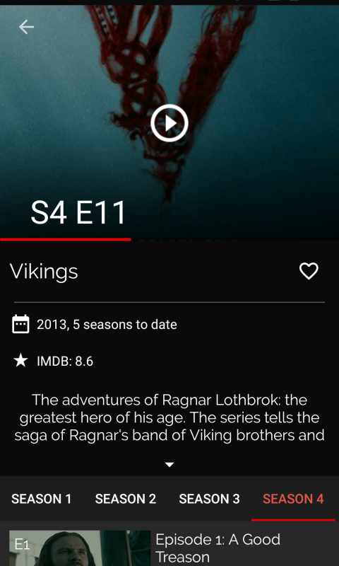 KokoTime - Free TV shows with subtitles in every language 1.2.5 Screen 2