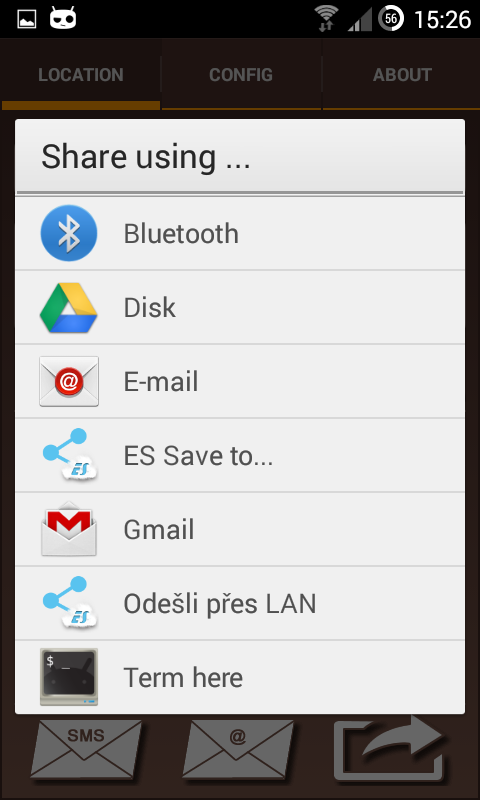 Android My Location Screen 4