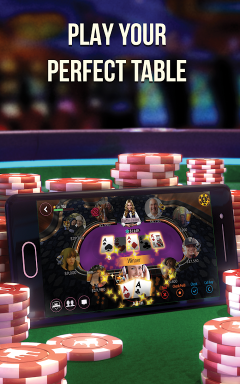 Android Zynga Poker – Texas Holdem Screen 16
