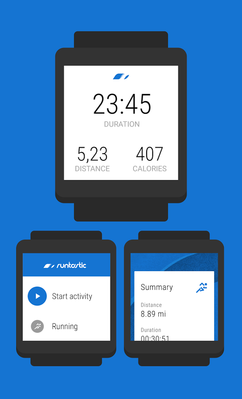 Android Runtastic PRO Running, Fitness Screen 22