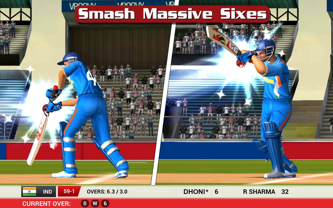 Android MS Dhoni: The Official Cricket Game Screen 3