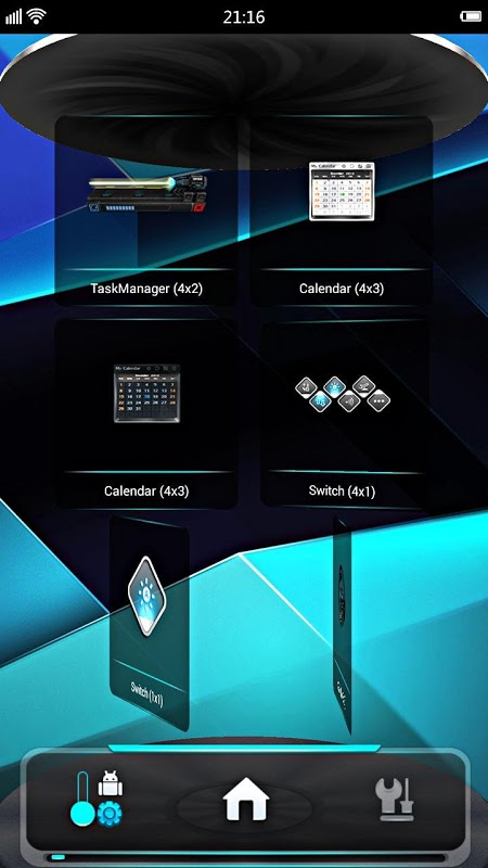 Android NextLb Screen 7