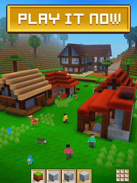 Android Block Craft 3D: Building Simulator Games For Free Screen 1