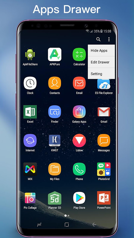 Android S7 Launcher -Galaxy S7 launche Screen 1