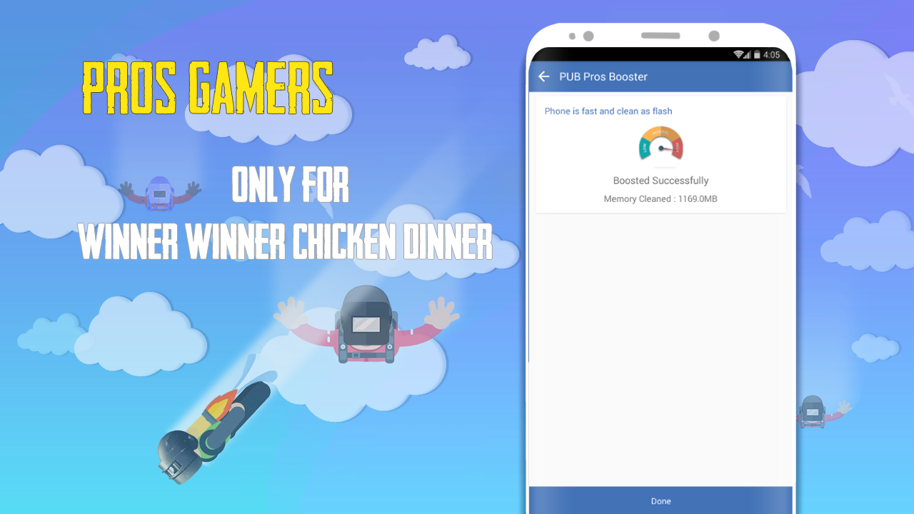 Android PUB Pros Booster: Game Booster for pubg Pro Gamer Screen 5