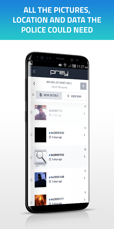 Prey Anti Theft: Find My Phone & Mobile Security 1.9.9 Screen 4