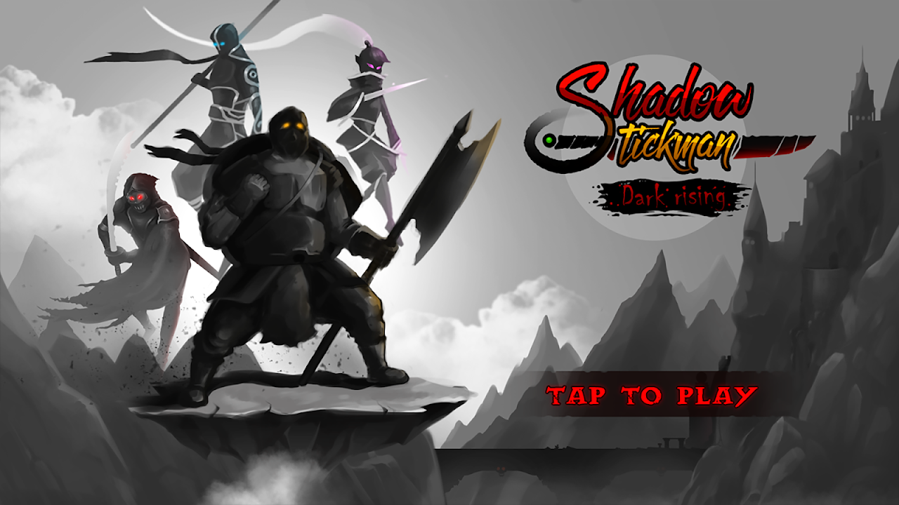 Android Shadow Stickman: Dark rising – Ninja warriors Screen 5