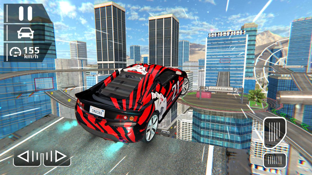 Android Smash Car Hit - Impossible Stunt Screen 5