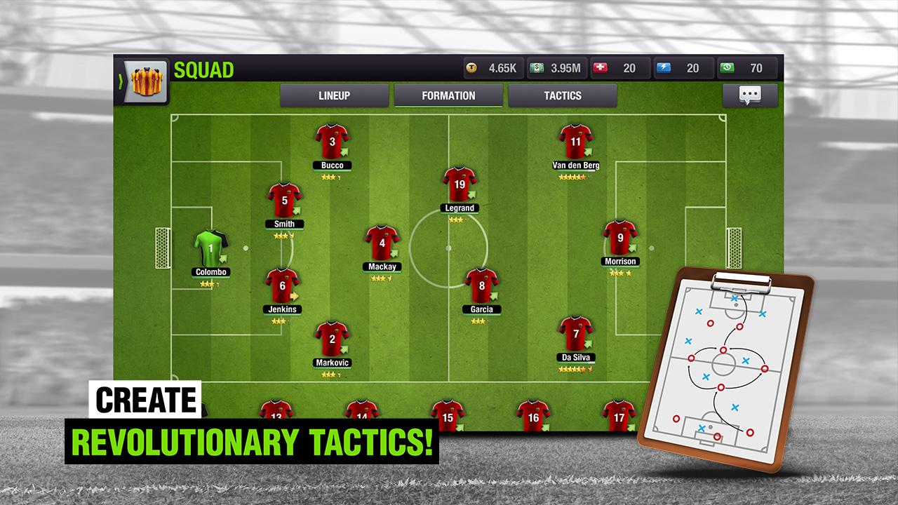 Android Top Eleven 2018 - Be a Football Manager Screen 1