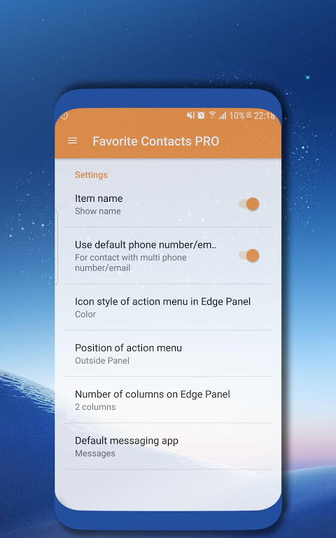Favorite Contacts PRO 1 7 APK Download by Edge Master
