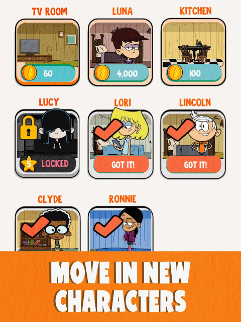 Loud House: Ultimate Treehouse 1.5.1 Screen 8