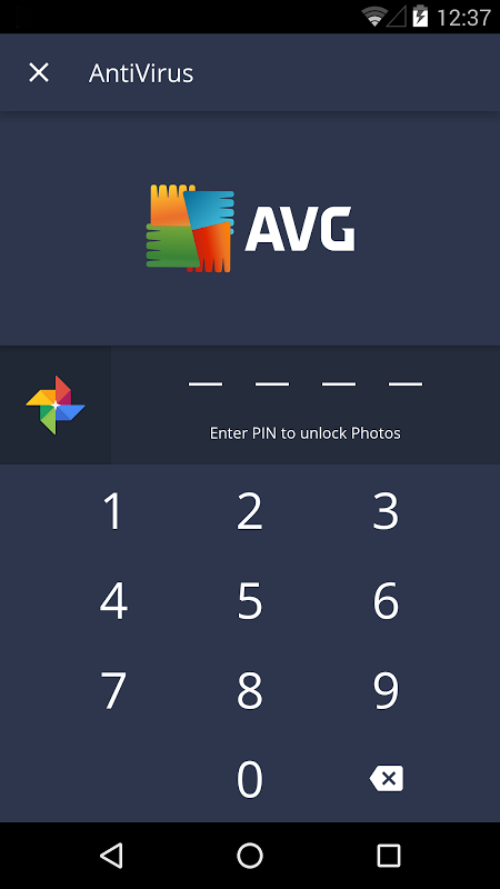 Android AVG AntiVirus FREE for Android Security 2017 Screen 4