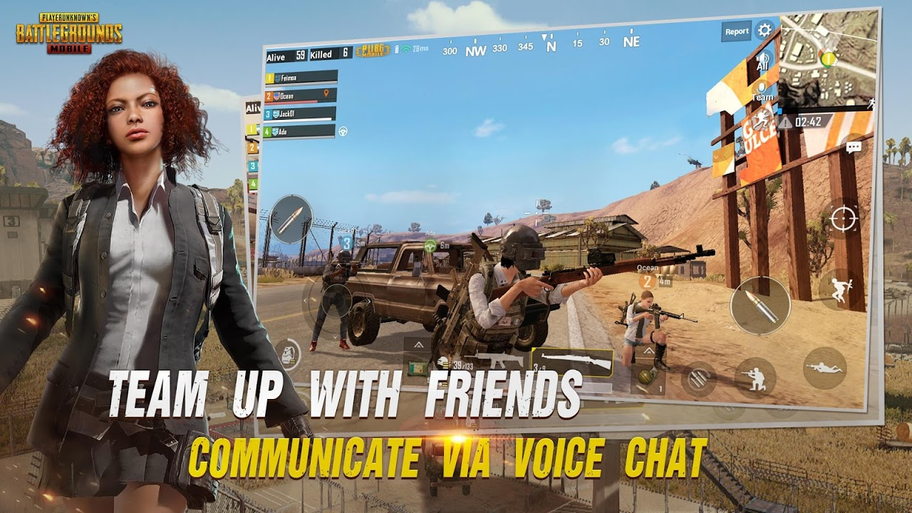 Android PUBG MOBILE Screen 5