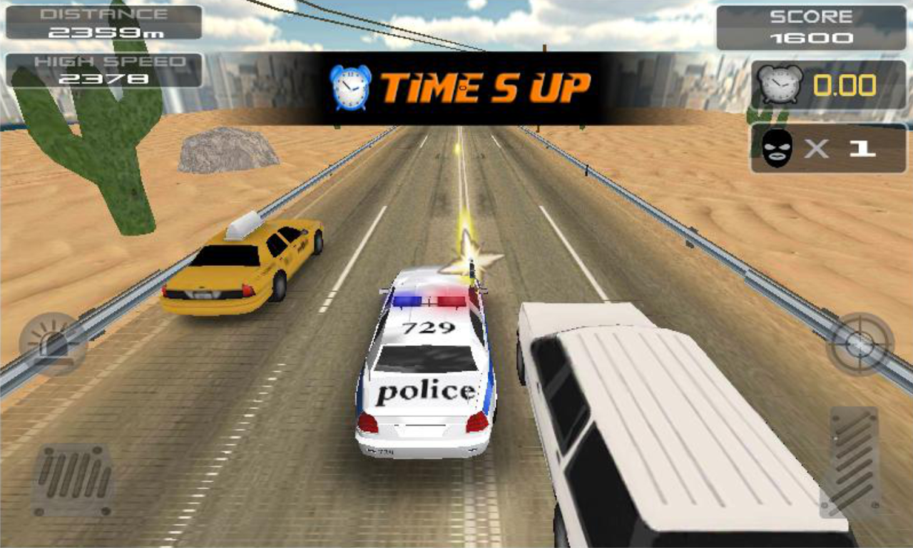 POLICE Clash 3D 1.7 Screen 5