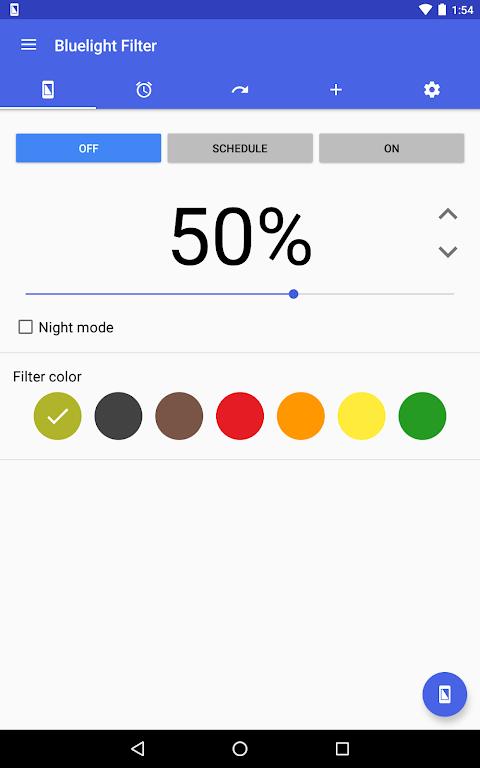 Bluelight Filter for Eye Care 2.9.24 Beta 3 Screen 6