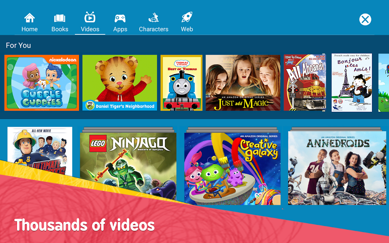 Amazon FreeTime – Kids' Videos, Books, & TV shows FreeTimeApp-fireos_v3.14_Build-1.0.203601.0.11091 Screen 10