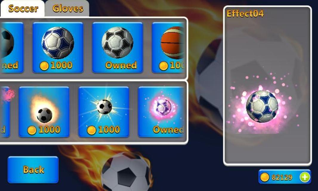 Android Super Goalkeeper - Soccer Game Screen 1