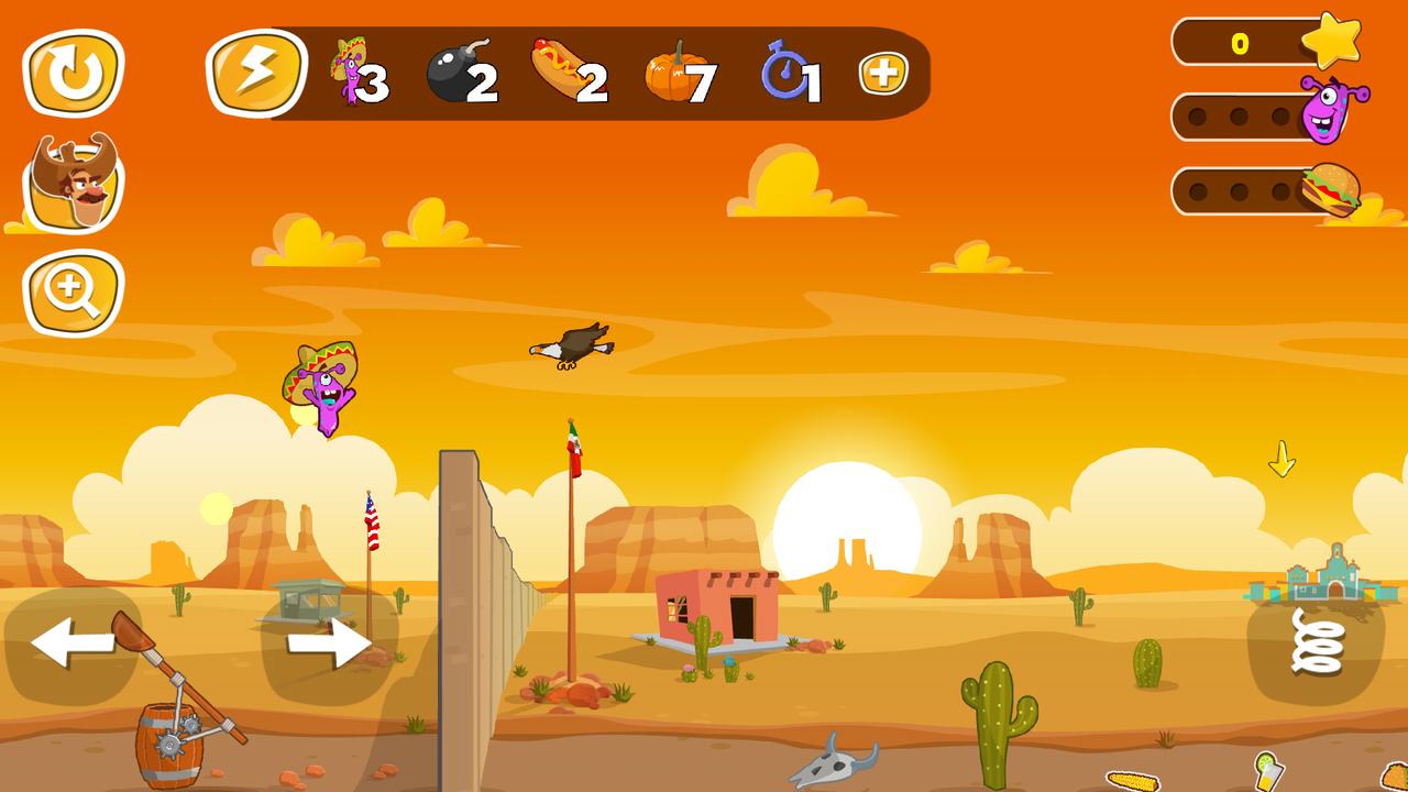Android Jump the Wall - Mexico USA : Catapult, Jump, Escape - Appcoins ed. Screen 1