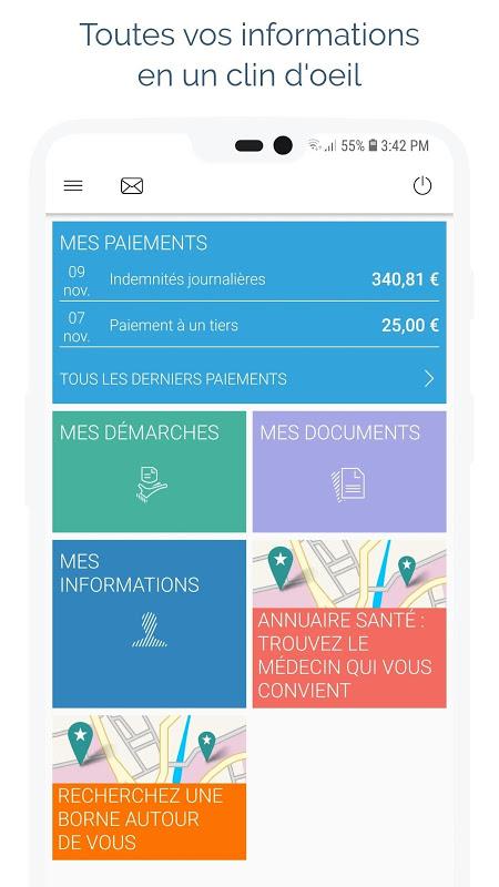ameli, l'Assurance Maladie 12.0.1 Screen 5