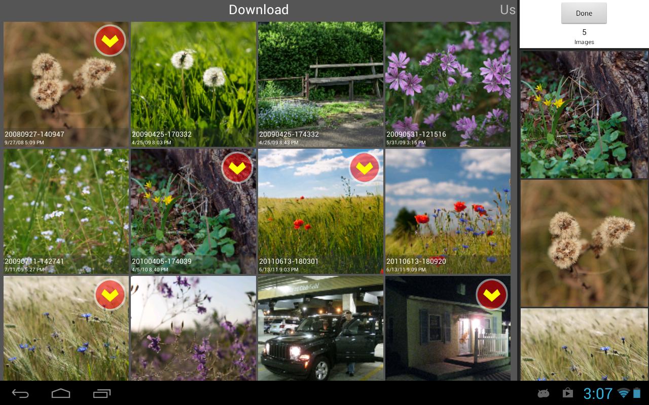 Android SlideFX Video Creator Screen 1