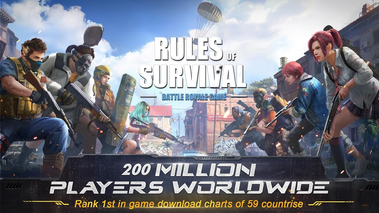 Android RULES OF SURVIVAL Screen 8