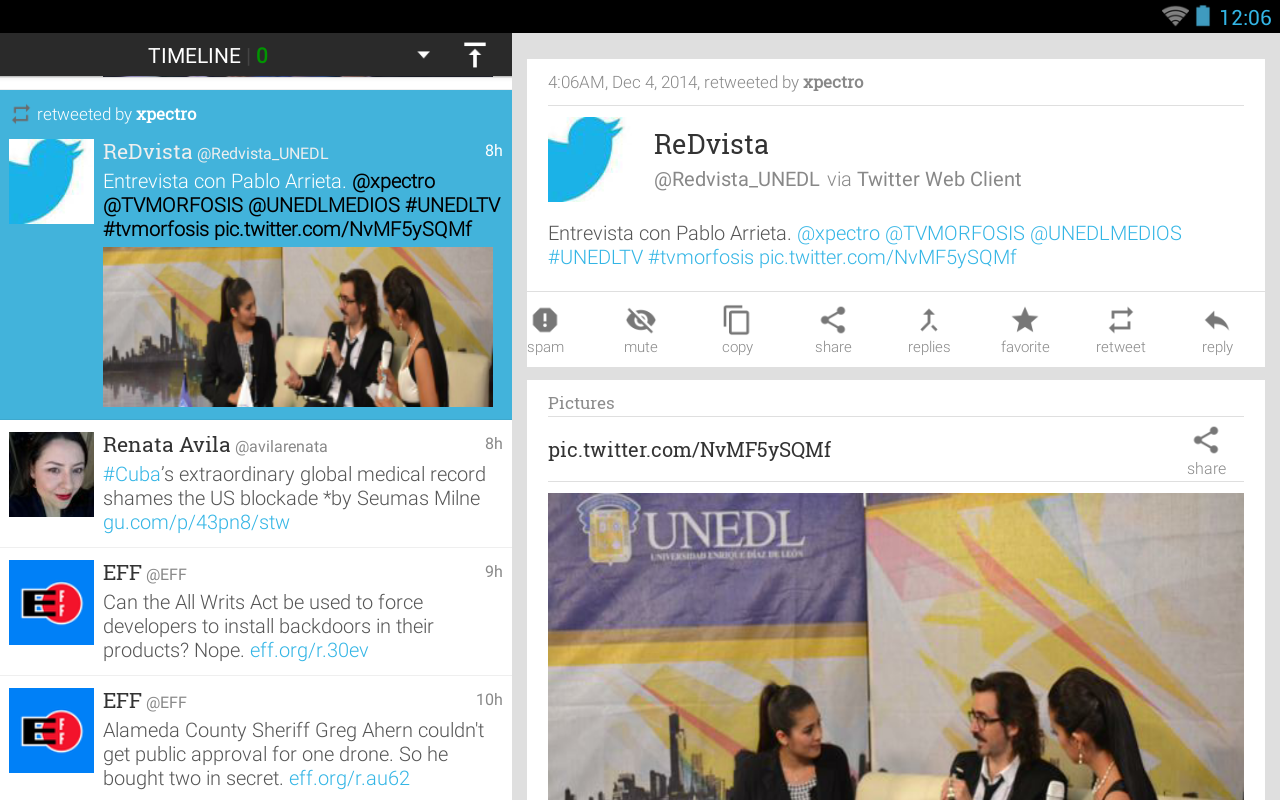 Plume for Twitter 6.29.0 Screen 1