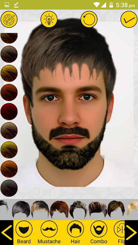 Add Hair Beard Mustache Styles 1.7 Screen 3
