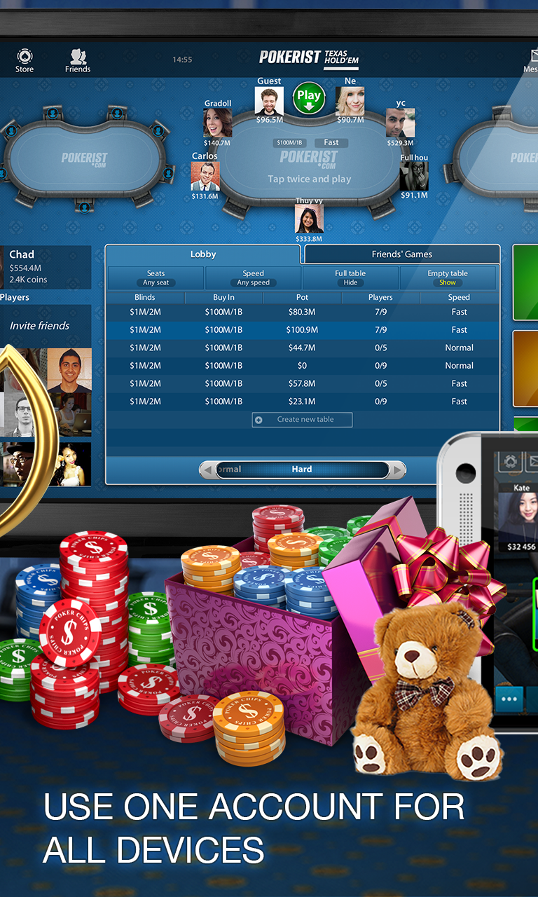 Android Pokerist: Texas Holdem Poker Screen 2