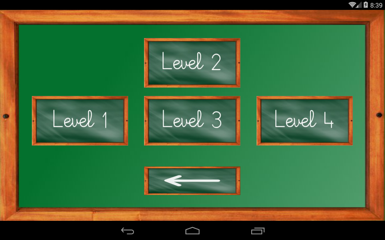 Android Maths Trainer Screen 9