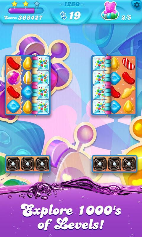 Android Candy Crush Soda Saga Screen 2