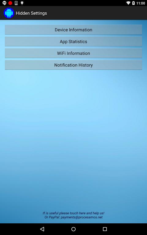 Hidden Settings APKs | Android APK