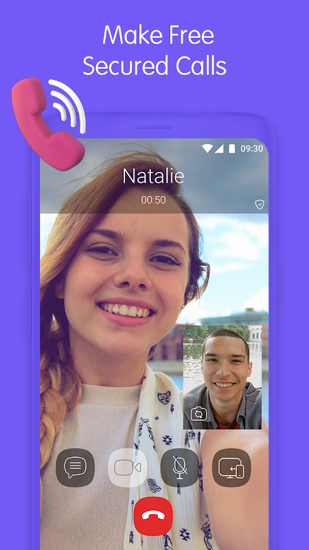 Viber Messenger 10.8.0.4 Screen 1