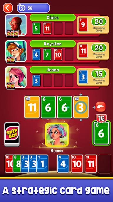 Skip-Bo 1.0 Screen 1