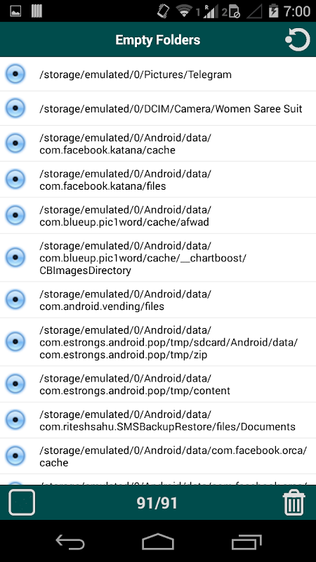 Android Folder Cleaner Screen 5