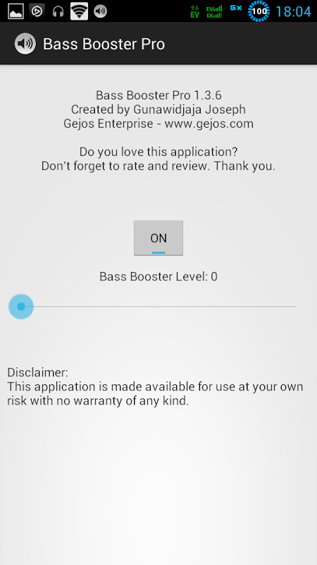 BASS BOOSTER PRO 1 8 7 APK Download by Gejos Enterprise