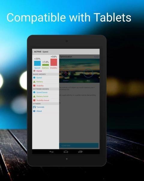 Android Quad-Core Processor Booster Screen 5