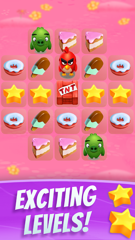 Android Angry Birds Match Screen 2
