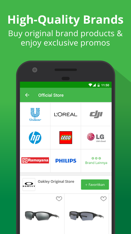 Android Tokopedia - Online Shopping, Pulsa & Payment Screen 3