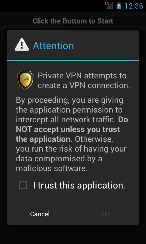 Android Private VPN Proxy Free Screen 3