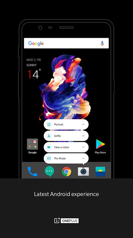 OnePlus Launcher 2.5.1.180803161901.ff750b1 Screen 3