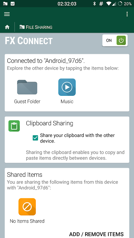Android FX File Explorer Screen 5